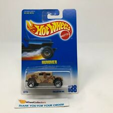 Hummer #188 * Tan Camo * Hot Wheels Blue Card * HG50