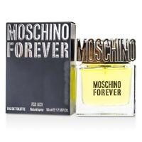 Moschino Forever Eau De Toilette Spray 50ml Mens Cologne
