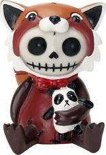 Furrybones Reddington Skeleton Dressed in Red Panda Costume Halloween Figurine