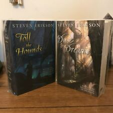 Toll the Hounds and Dust Of Dreams, Steven Erikson, SIGNED LIMITED EDITIONS