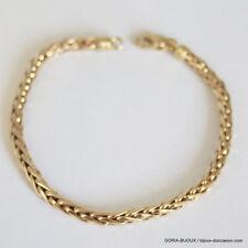 Bracelet Or 750 18k Maille Palmier 19cm 7.3grs - Bijoux occasion