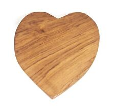 Wooden Heart Cup Coaster
