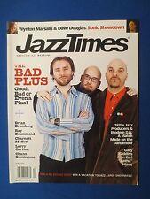 JAZZ TIMES MAGAZINE APRIL 2004 BRIAN BROMBERG WYNTON MARSALIS DAVE DOUGLAS
