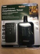 Prime Outdoor Residential Lighting Countdown Timer Remote Photocell