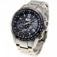 Seiko Astron Solar GPS Titanium Big Date Men's Watch SSE137