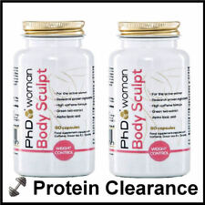PhD Woman Body Sculpt 2 X 60 Capsules Female Fat Burner Diet Slimming BBE 09/17
