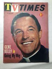 Vintage TV Times June 26 1963 Gene Kelly in Going My Way