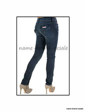 HUDSON Collin Flap JEANS Womens 26 x 32 SKINNY Dark Wash SLIM Leg Designer Denim