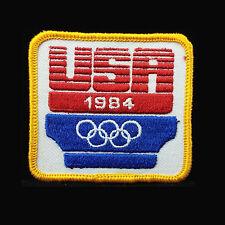 1984 USA OLYMPIC GAMES Original NOS Embroidered USA Patch