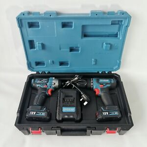Erbauer 12v Drill And Impact Driver Set - Excellent Condition