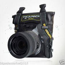 DiCAPac WP-S5 Waterproof Case for 100D X7 1200D D5300 D750 D7100 D800E a77 II Df
