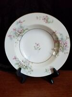 "8"" Rimmed SOUP BOWLS Theodore Haviland New York Apple Blossom Fine Vintage China"