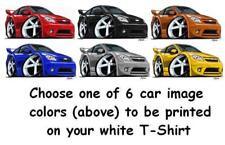 Chevy Cobalt SS turbo ecotec LS LT LTZ cartoon t-shirt 6 car colors sizes S-3XL