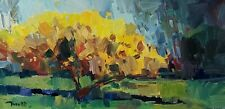 JOSE TRUJILLO Oil Painting IMPRESSIONISM LANDSCAPE COLLECTIBLE FINE ART NR COA