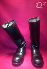 VTG Harley Davidson Leather Motorcycle Boot Sz 9.5-10 Oil resis USA