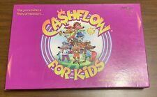 CASHFLOW for Kids Game Rich Dad Poor Dad 100% COMPLETE! Robert Kiyosaki  EUC