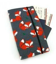 Orange Fox Travel Wallet, Passport Wallet, Travel Organiser, Family Wallet