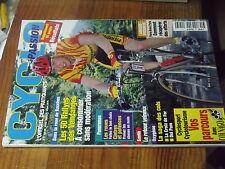 9µ?§ Revue Cyclo Passion n°57 Croix de fer Del Pam ROUES Laffont Ruyter