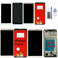 For Huawei Y7 Pro Prime 2018 LCD Display Touch Screen Digitizer Assembly Frame