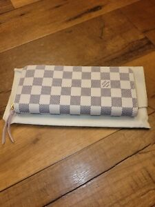 Louis Vuitton  Damier Azur Pink Clemence Wallet
