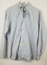 Joseph & Feiss Men's Non Iron Plaid Long Sleeve Dress Shirt Large