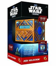Uncle Milton STAR WARS Light Up JEDI HOLOCRON CUBE Reads Your Mind