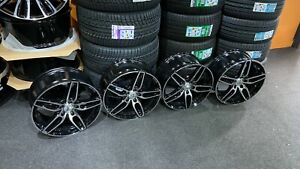 "Ex Display 18"" Mercedes AMG Sport Style black Alloy Wheels A-Class B-Class CLA +"