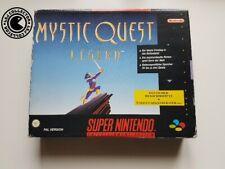 Mystic quest legend bigbox super nintendo snes