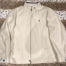 Polo Ralph Lauren Beige Jacket Detailed Stitching Dbl Internal Pockets 2XL