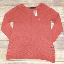 NWT Attention Long Sleeve Red Knitted Top, Medium