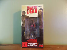 The Walking Dead German Blu Ray Set with VHTF RARE Bloody Michonne Figure  NEGAN