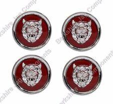 X Type Leichtmetallfelge Kennzeichen Rubin Rot / Silber (4 Stück) MNA6249EA -