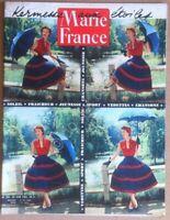 Rivista Magazine Marie France - n. 396 Juin 1952 - Vintage fashion advertising
