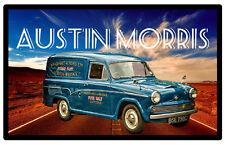 CAR & VEHICLES - SOUVENIR NOVELTY FRIDGE MAGNET - (AUSTIN MORRIS) / LITTLE GIFTS