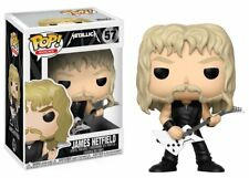 Funko POP! Rocks Metallica 57 James Hetfield Vinyl Figure Metal Music Figurine
