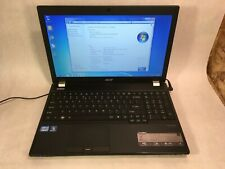 "Acer TravelMate 5760 15.6"" Laptop Intel Core i3-2310M 2.1GHz 4GB 320GB Win 7 -RR"