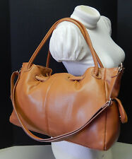 Gorgeous Cognac Brown Satchel Handbag Shoulder Bag Purse