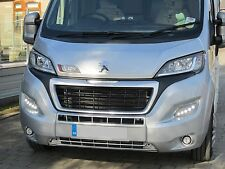 Daytime Running Lights DRL LED Pod Kit Ducato, Boxer, Relay, X290 2014 on Silver