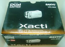 SANYO XACTI VPC-GH2 Dual Camera TAKES PHOTOS AND VIDEOS OPENED TESTED PERFECT