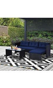 3 piece outdoor patio set, furniture set, poolside, porch furniture, wicker