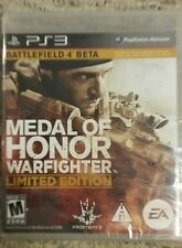 Medal of Honor: Warfighter -- Limited Edition Sony PlayStation 3, PS3, NEW!!!