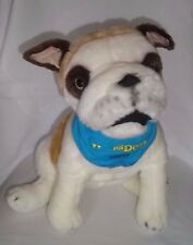 "2008 Dreamworks HOTEL FOR DOGS 14"" Plush COOPER Bulldog Large Stuffed Animal Toy"