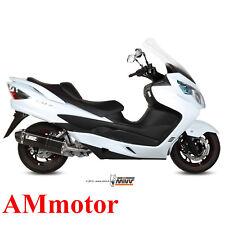 Echappement Complete Mivv Suzuki Burgman 400 2013 Moto Speed Edge Black Scooter