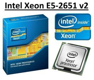 Intel Xeon E5-2651 v2 SR19K 1.80 GHz, 30MB, 12 Core, Socket LGA2011, 105W CPU