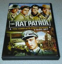 DVD: Rat Patrol - The Complete First Season, Frank Baur, Jack N. Reddish, RARE