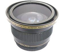 For Sony HDR-CX430V HDR-PJ650V HDR-PJ430V Fisheye Lens Ultra Super HD Panoramic