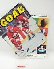 Vintage Goal Hockey Magazine Lanny McDonald w/ Stats