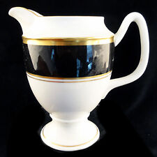 """ATHLONE BROWN Coalport CREAMER 5"""" tall NEW NEVER USED made in England"""