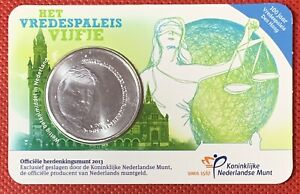 5 Euro Allemagne «Het Vredespales Vijfje» 2013