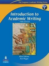 Introduction to Academic Writing with CriterionSM Publisher's Version The Lon